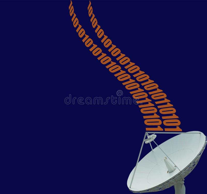 satellit för 2 data royaltyfri foto