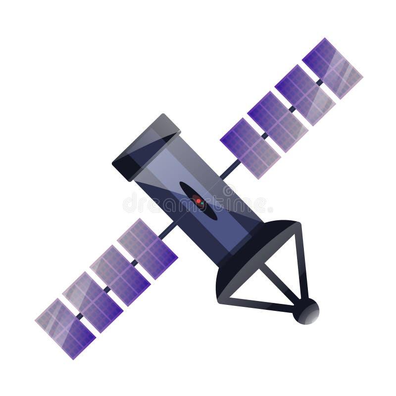Satellit för GPS stock illustrationer