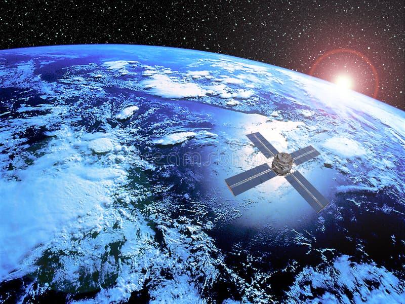 Download Satellite stock illustration. Image of probe, clip, backdrop - 11858188