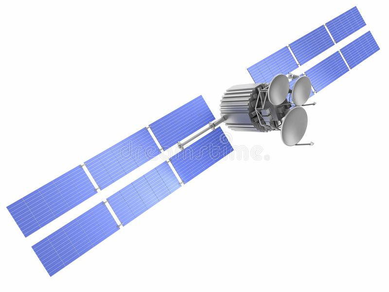 Satellite illustrazione di stock