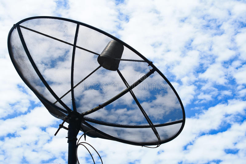 Download Satellite stock photo. Image of satellite, receive, communicate - 25355744