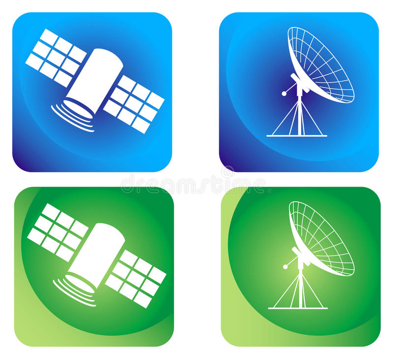 Free Satellite And Antenna Royalty Free Stock Photo - 9901105