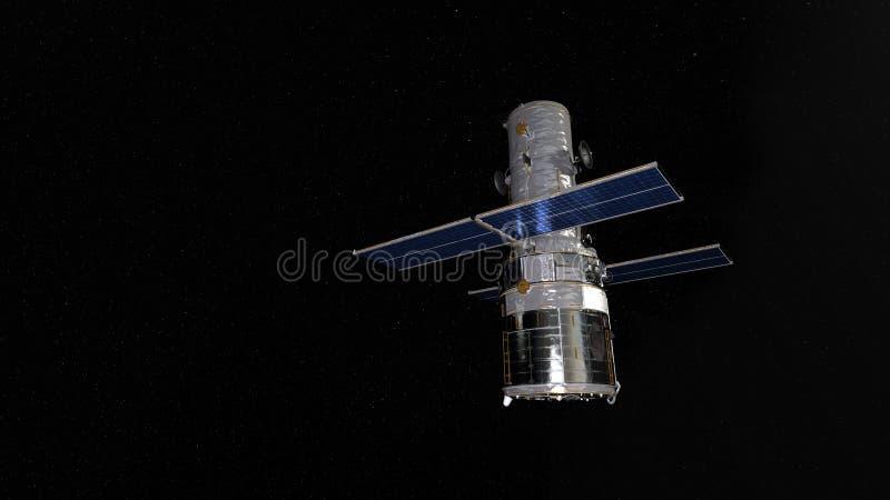 Satellite artificiale fotografia stock