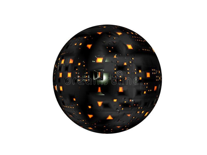 Satellite della nave spaziale royalty illustrazione gratis
