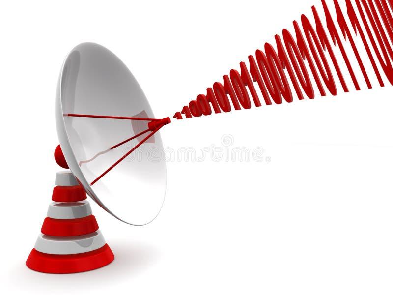 Download Satellite dish stock illustration. Image of electronic - 10111198
