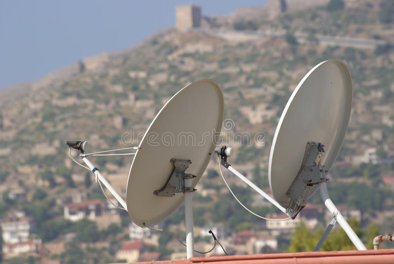Download Satellite dish stock photo. Image of multimedia, channel - 14679584