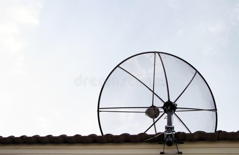 Download Satellite dish stock image. Image of airwaves, clouds - 25433955