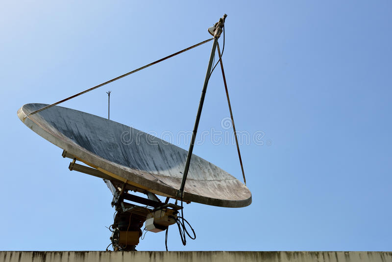 Download The Satellite dish. stock photo. Image of disc, global - 25477896
