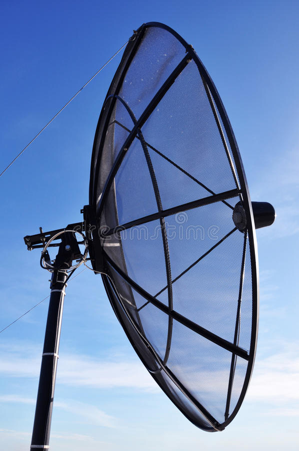 Download A satellite dish stock photo. Image of outdoor, information - 25808410