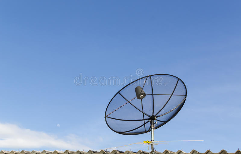 Download Satellite dish stock photo. Image of send, channel, conveyance - 26560560