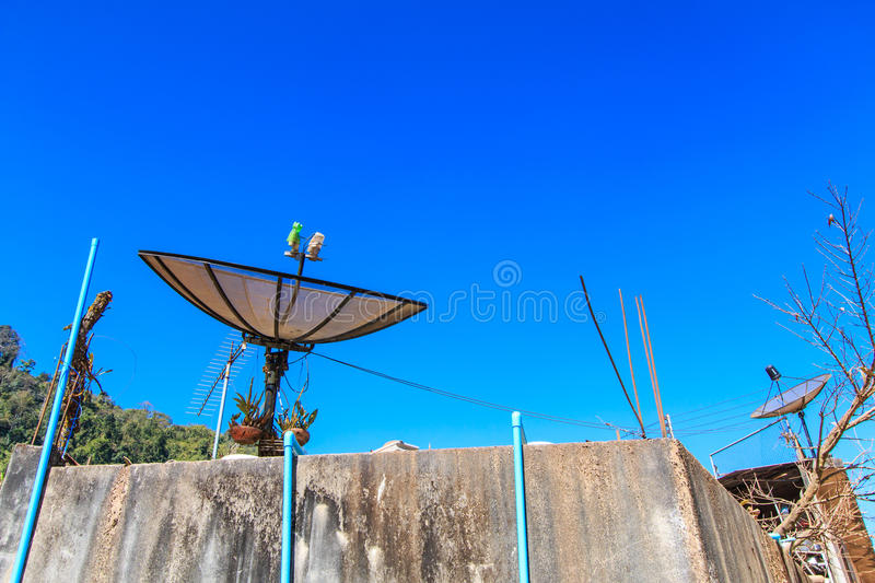 Download Satellite dish stock photo. Image of directional, photo - 37576934