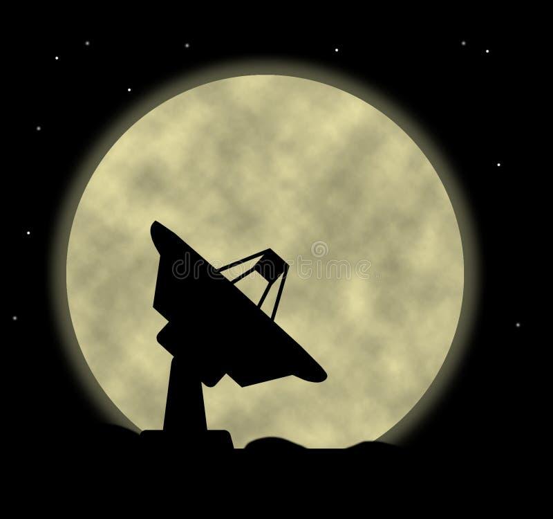 Satellite Dish stock illustration