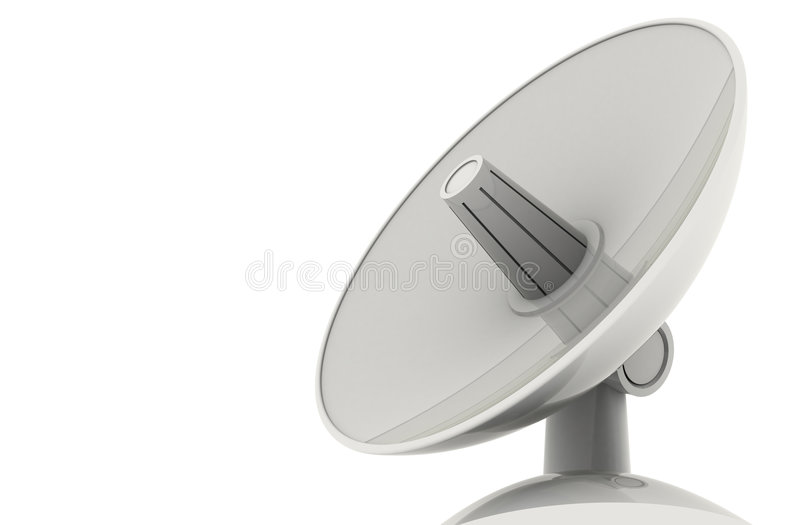 Download Satellite dish stock illustration. Illustration of points - 7015128