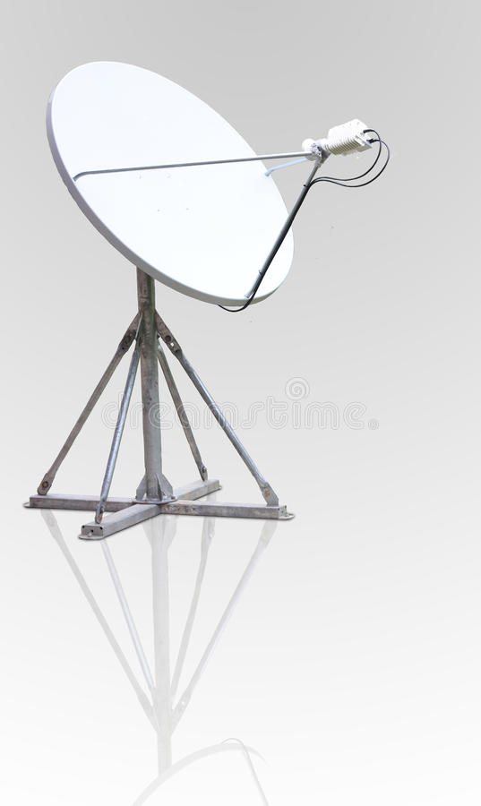 Download Satellite dish antenna stock illustration. Image of business - 34069757