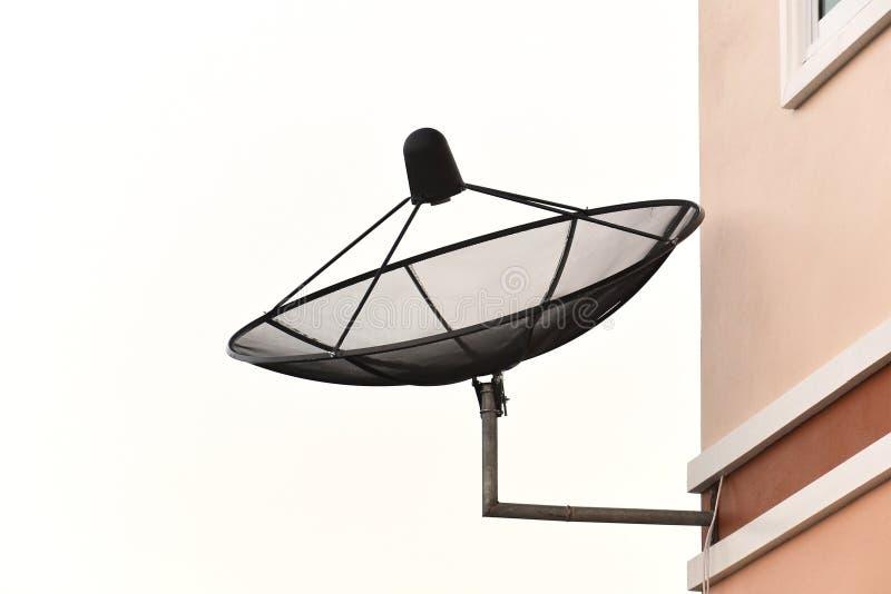Satellite dish. Close up of satellite dish on white, tv, antenna, technology, isolated, parabolic, radio, internet, digital, television, broadcast, space stock photos