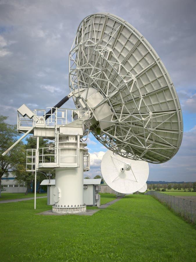 Satellite dish. An image of a big satellite dish at Raisting Germany royalty free stock images