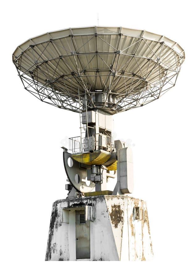 Satellite dish isolated royalty free stock photos