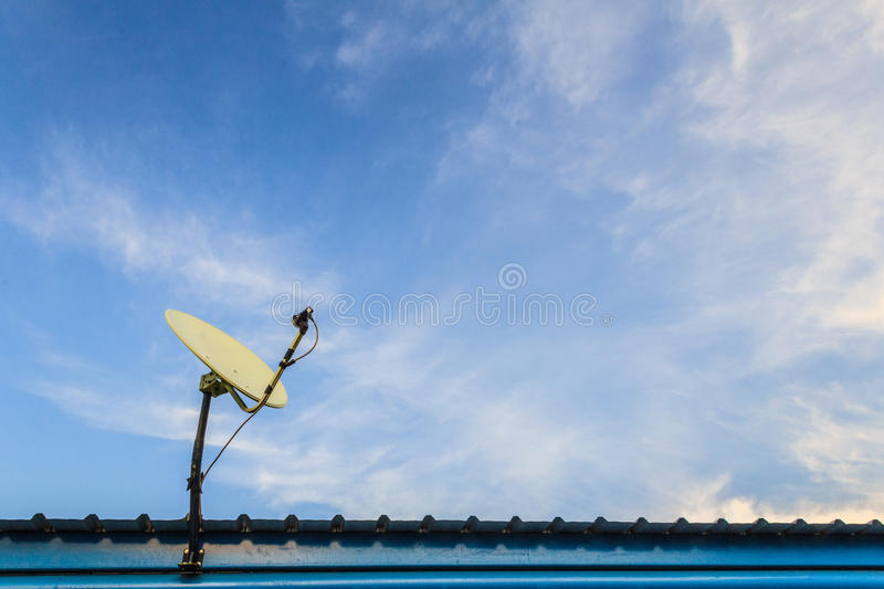 Download Satellite Dish stock photo. Image of television, airy - 42878882