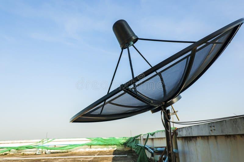 Download Satellite Dish Under Blue Sky Stock Photo - Image: 25802794