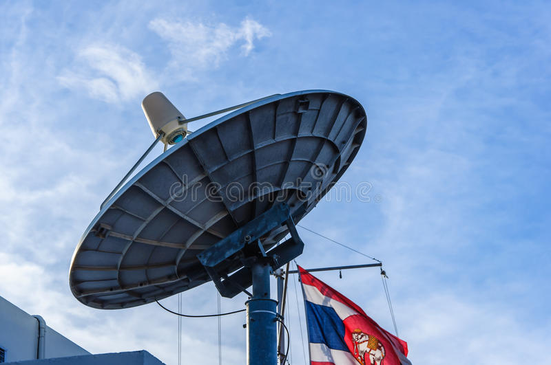 Download Satellite dishes antenna stock photo. Image of astronomy - 41230704