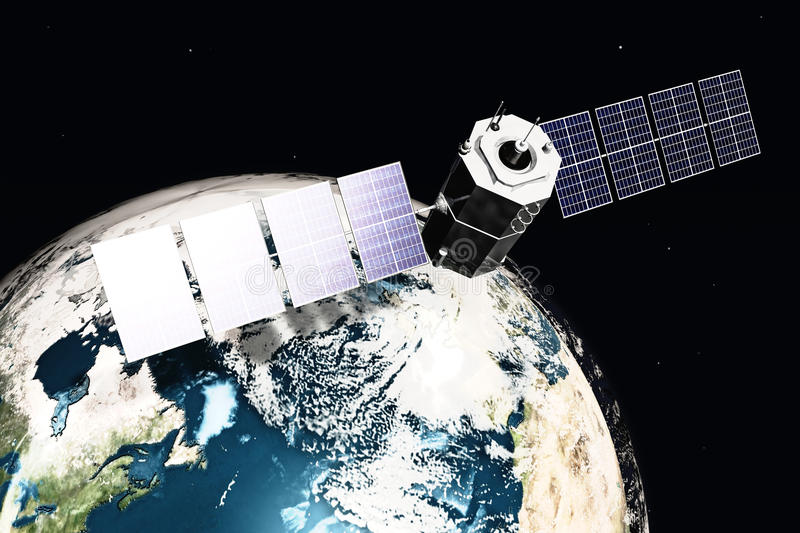 Download Satellite And Earth Stock Images - Image: 9960534