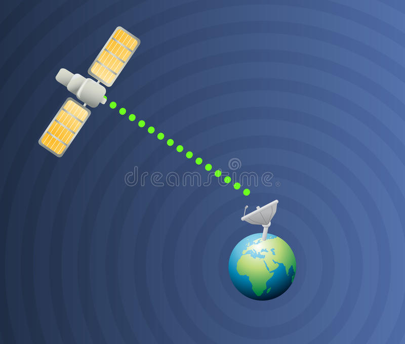 Download Satellite Earth Communication Royalty Free Stock Images - Image: 14333119
