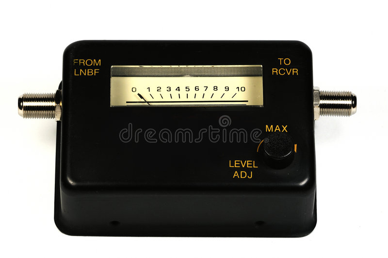 Satellite Meter Royalty Free Stock Photography
