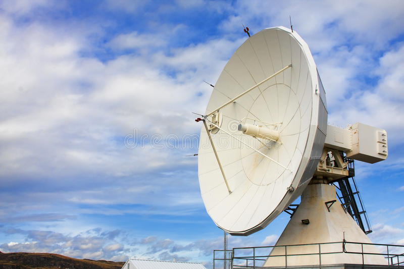 Satellite at National Radio Astronomy Observatory. Satellite Dish at National Radio Astronomy Observatory in Brewster, Washington, USA stock images