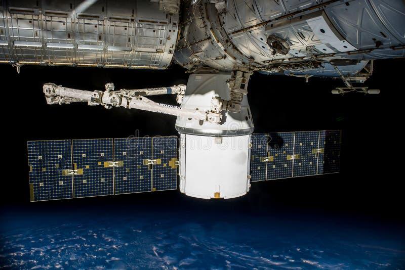 Satellite Orbiting Earth Free Public Domain Cc0 Image