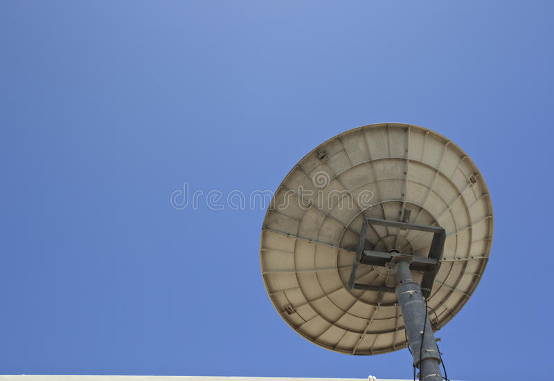 Download Satellite receiver stock photo. Image of wave, talk, strong - 25808880