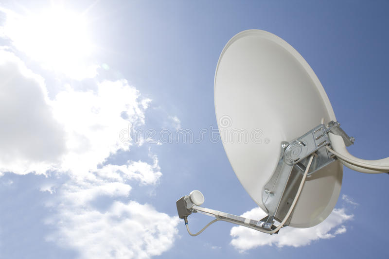 Satellite In The Sky Royalty Free Stock Photography