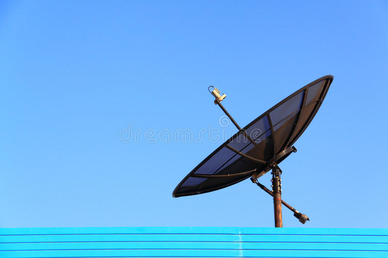Download Satellite TV stock image. Image of connected, send, receiver - 17358943