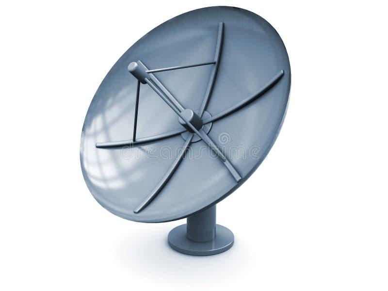 Satellitenantenne lizenzfreie abbildung