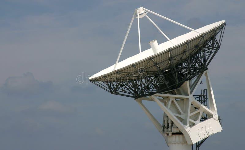 Satellitenaufspürenteller stockbilder