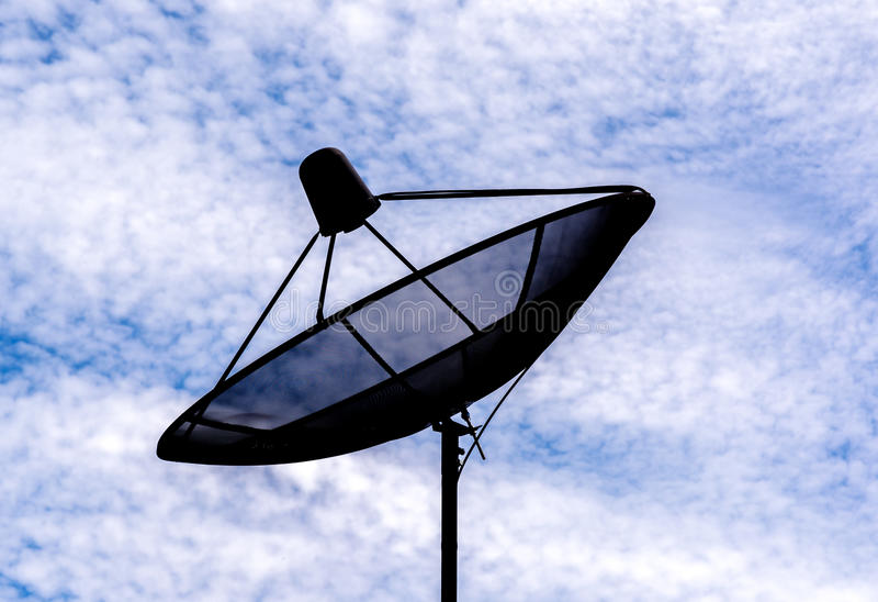 Satellites dish royalty free stock images
