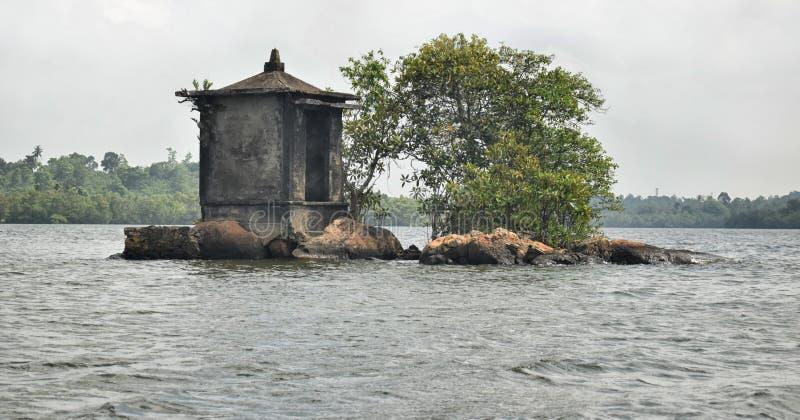 Satha Paha Duwa Madu River fotografia stock
