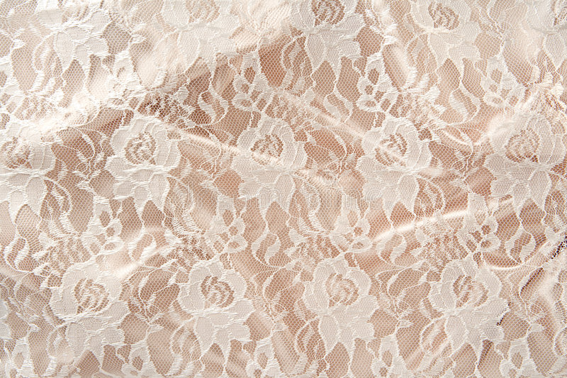 Satin & Lace stock image