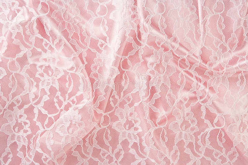 Satin & Lace. Satin and Lace can be used as a backdrop royalty free stock images