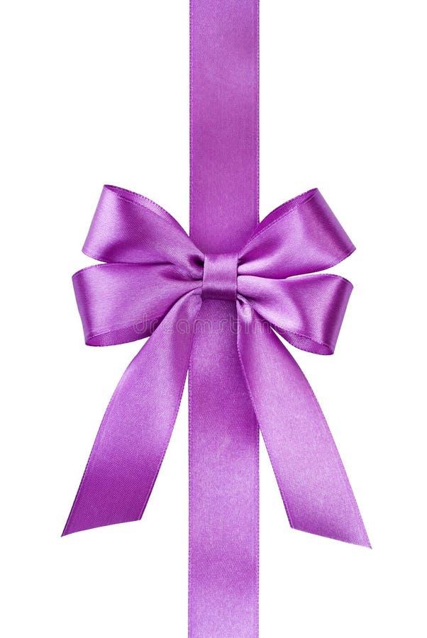 Satin Pink Ribbon Bow Royalty Free Stock Image