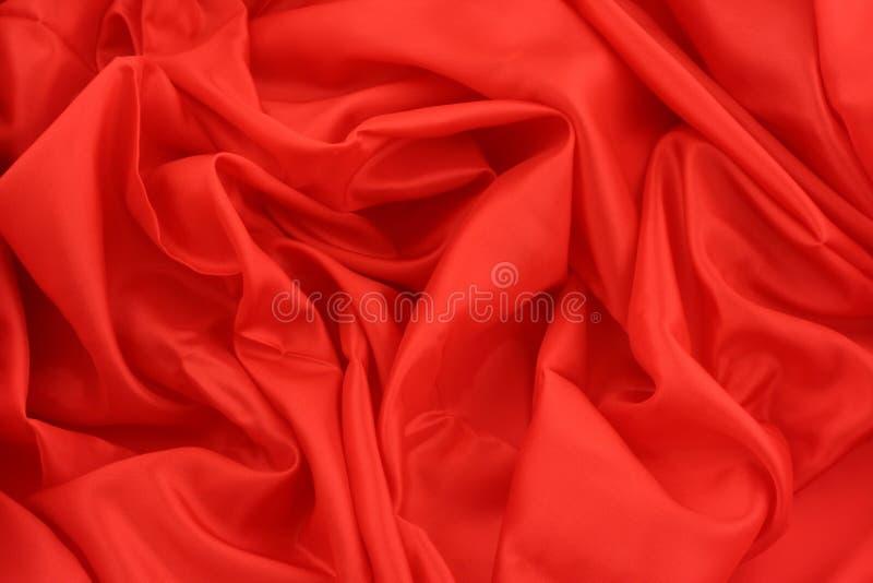 Satin rouge images libres de droits