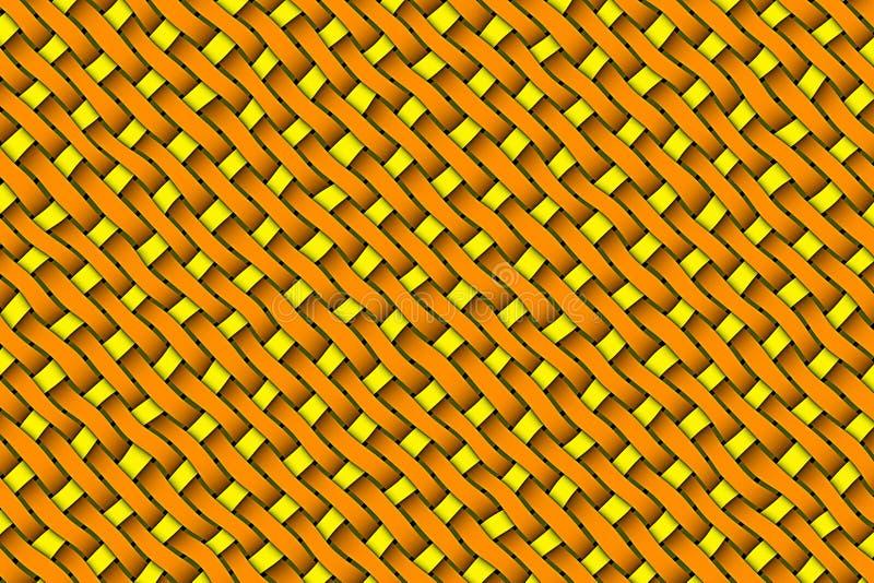 Satin weave texture