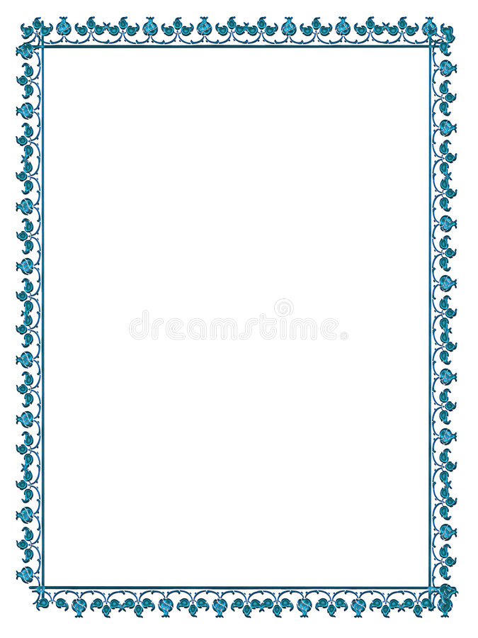 Satined frame royalty free stock image