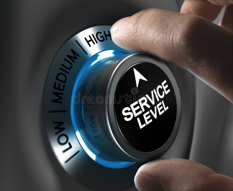 Satisfacción del cliente ilustración del vector