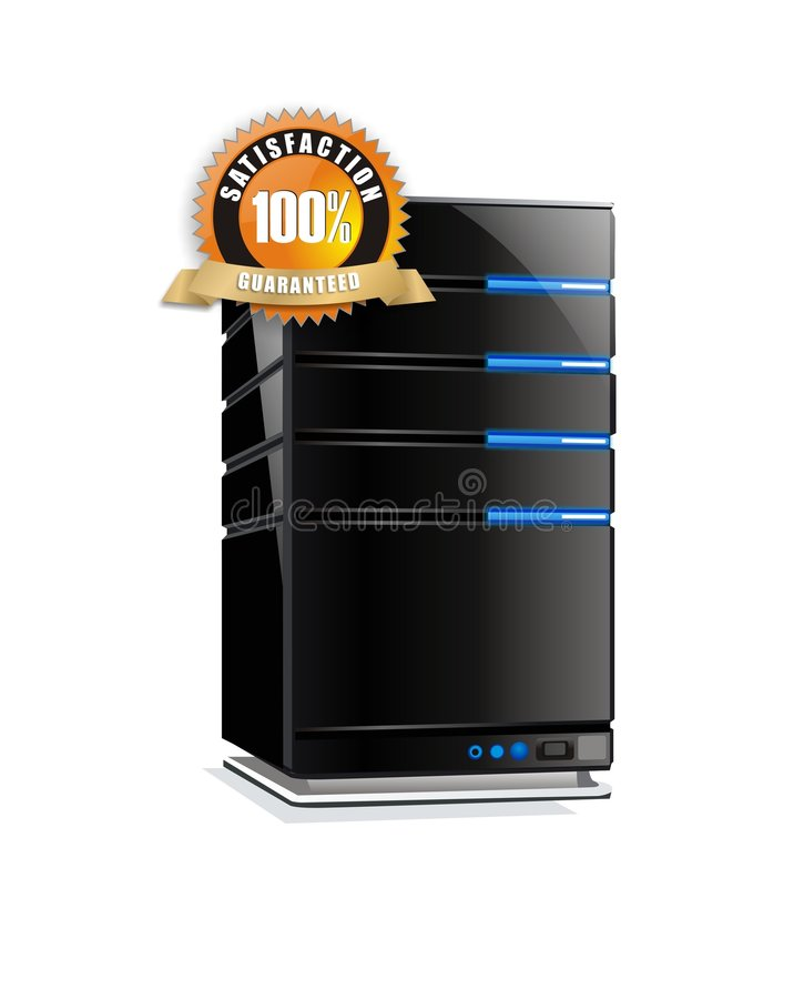 Satisfaction guarantee server stock photos