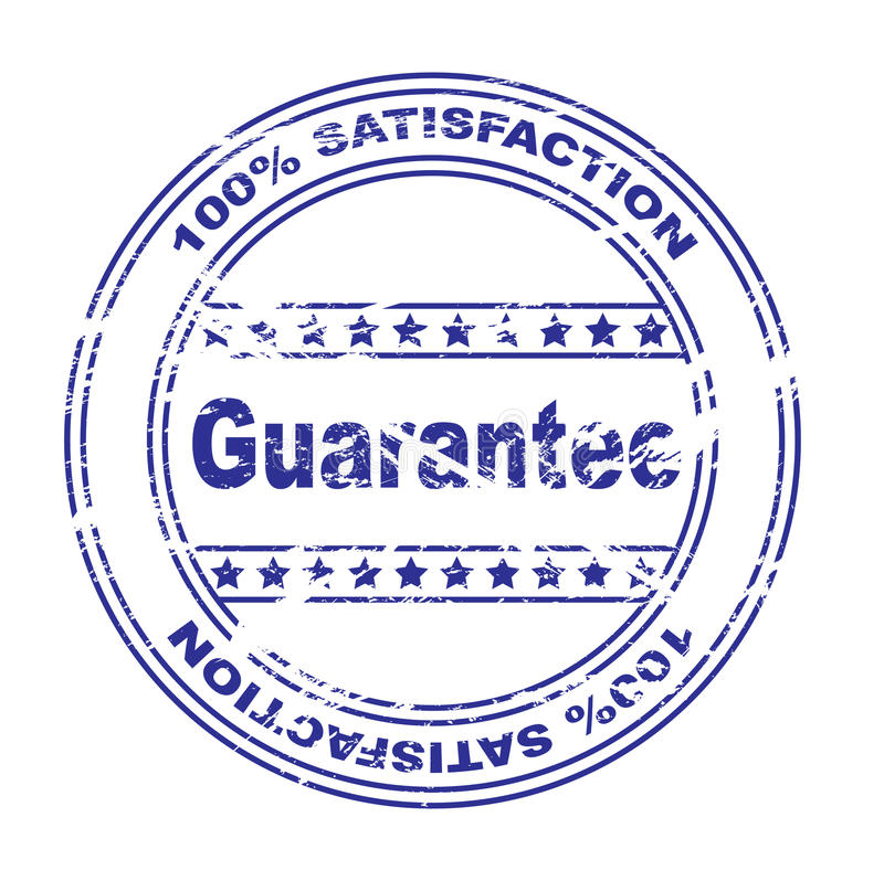 Free Satisfaction Guarantee Stamp (vector) Stock Image - 9587551