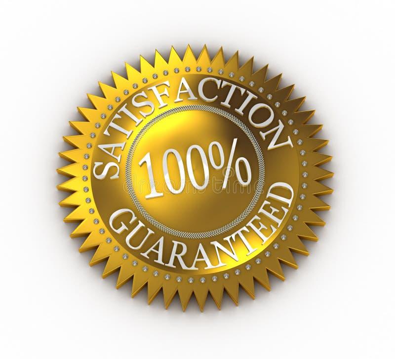 Download Satisfaction Guaranteed Royalty Free Stock Image - Image: 12027766