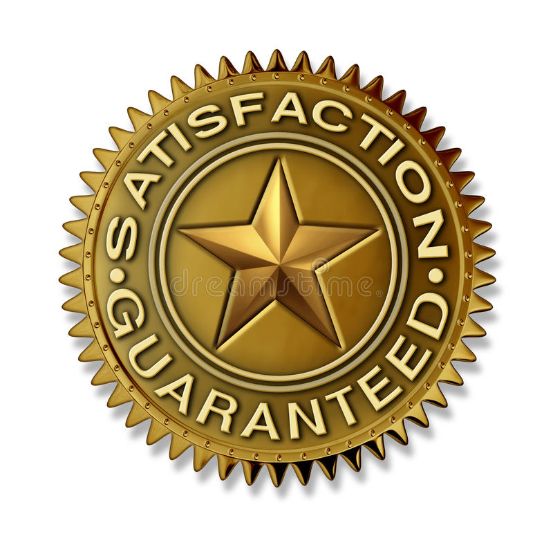 Download Satisfaction Guaranteed Royalty Free Stock Image - Image: 22468356