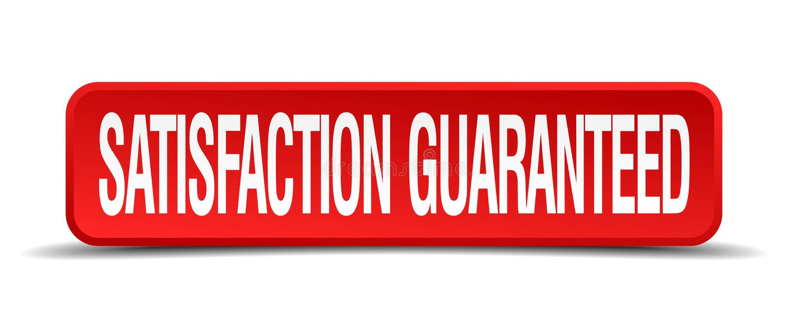 satisfaction guaranteed button vector illustration