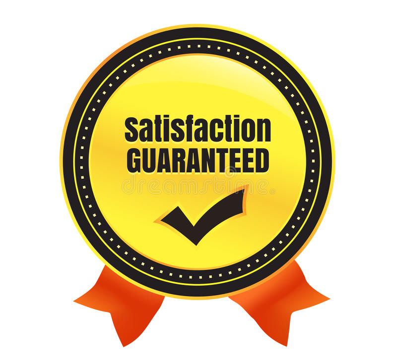 Download Satisfaction Guaranteed Ecommerce Badge Stock Vector - Image: 37638272