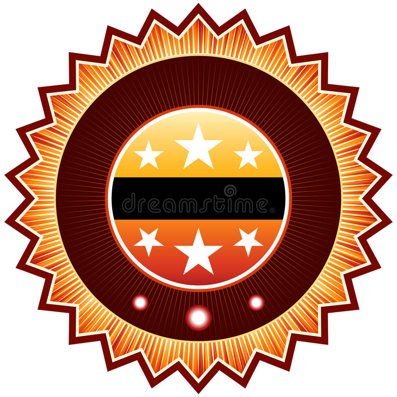 Satisfaction guaranteed label or sign. EPS 8 vector illustration
